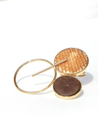 Coconut shell ring
