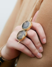 Marble toggle ring
