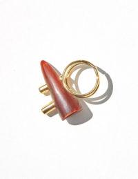 Red horn ring b