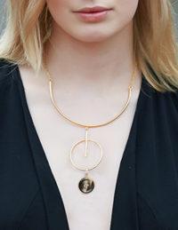 button dangler necklace 2