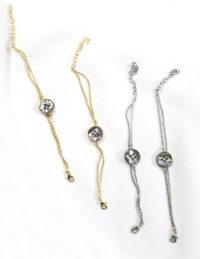 gold abalone bracelets
