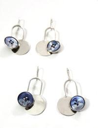 rafiki disc earrings